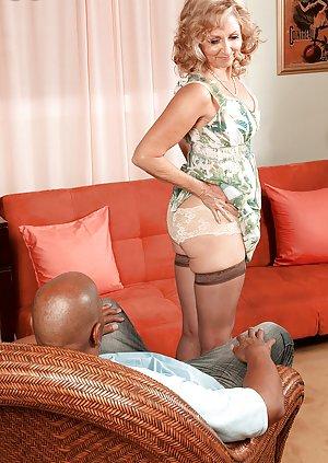 Interracial Granny Porn Pics