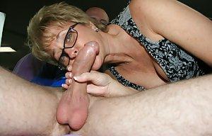 Granny Blowjobs Porn Pics