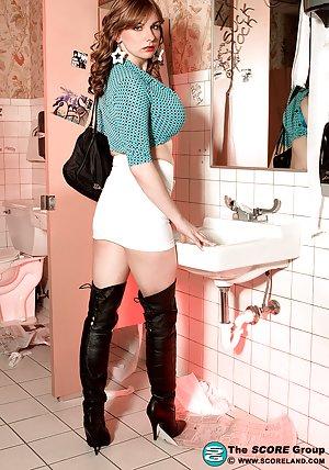 Granny Boots Porn Pics