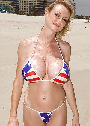 Granny Bikini Porn Pics