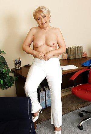 Office Granny Porn Pics