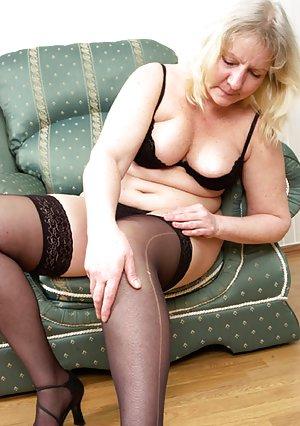 Granny Stockings Porn Pics